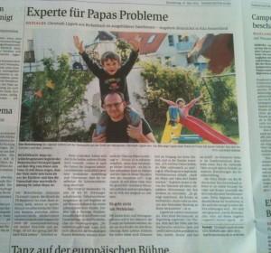 Artikel im Darmstädter Echo vom 10. Mai 2012.