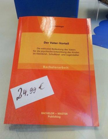 Yves Steininger: Der Vater-Vorteil
